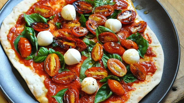 2-4-1 stone baked pizza all day every Wednesday